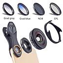 povoljno Stolne svjetiljke-Leća za mobitel Objektiv s filterom / Širokokutni objektiv / Makro objektiv staklo / Aluminijska legura Makronaredba 10X 40 mm 0.16 m 110 ° Kreativan / New Design / Cool