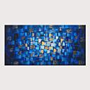 levne Abstraktní malby-Hang-malované olejomalba Ručně malované - Abstraktní Klasické Moderní Bez vnitřní rám / Válcované plátno