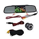 baratos DVR para Carros-BYNCG WG4.3 4.3 polegada TFT-LCD 480 TVL 480 linhas TV 1/4 polegada CMOS OV7950 Com Fio 120 Graus 1 pcs 120 ° 4.3 polegada Camêra Traseira / Monitor de inversão de carro / Head Up Display Visão