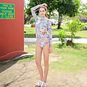 halpa Märkäpuvut, sukelluspuvut ja suoja-asut-Naisten Rashguard-uimapuku Uima-asut UV-aurinkosuojaus Pitkähihainen Uinti Sukellus Maalaus Kesä / Mikrojoustava