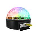 halpa Astiasarjat-1set Disco Ball Lamp Värikäs AC-virtalähde Bluetooth / Etäohjattu / Ilmakehän lamppu 100-240 V