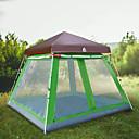 رخيصةأون مفارش و خيم و كانوبي-Hewolf 8 أشخاص خيمة التخييم العائلية في الهواء الطلق ضد الهواء مكتشف الأمطار يمكن ارتداؤها طبقة واحدة قطب الماسورة خيمة التخييم >3000 mm إلى Camping / Hiking / Caving تنزه