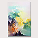 abordables Cabello Ondulado Natural-Mintura gran tamaño pintado a mano pintura al óleo abstracta del paisaje sobre lienzo imagen del arte de la pared moderna para la decoración del hogar sin marco