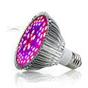 abordables Luz Ambiente LED-1pc 50 W 2500-3200 lm 78 Cuentas LED Espectro Completo Para el invernadero hidropónico Lámpara creciente Blanco Rojo Azul 85-265 V Invernadero vegetal
