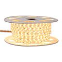 billige LED Strip Lamper-kwb 4m glans dekor led stripelys 220v fleksibelt vanntett taulys 5050 10mm 240 lys for innendørs utendørs omgivelses kommersiell belysning dekorasjon