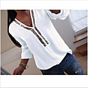 رخيصةأون الأزياء التنكرية التاريخية والقديمة-نسائي قميص ترتر لون سادة فوشيا XXXL