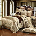 cheap High Quality Duvet Covers-Duvet Cover Sets Luxury Silk / Cotton Blend / Polyster Jacquard 4 PieceBedding Sets