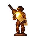 halpa Pöytävalaisimet-Taiteellinen Luova / Koristeltu Pöytälamppu Käyttötarkoitus Makuuhuone / Kaupat / kahvilat Hartsi 110-120V / 220-240V Kulta / Rubiini