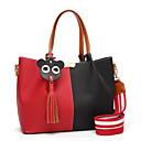 preiswerte Taschensets-Damen Quaste Bag Set Polyester / PU Einfarbig Rote / Herbst Winter