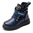 halpa Lasten saappaat-Poikien Nahka Bootsit Taapero (9m-4ys) / Pikkulapset (4-7 vuotta) / Suuret lapset (7 vuotta +) Comfort / Talvisaappaat Keltainen / Ruskea / Sininen Talvi / Säärisaappaat