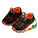 זול נעלי ילדים אתלטי-בנים רשת נעלי אתלטיקה פעוט (9m-4ys) נעליים זוהרות לבן / שחור / ורוד אביב / סתיו / גומי