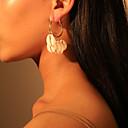 זול עגילים אופנתיים-בגדי ריקוד נשים עגיל ארופאי טרנדי אופנתי מודרני ציפוי עגילים תכשיטים לבן / קשת עבור מתנה יומי רחוב חגים עבודה זוג 1