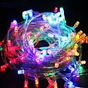 ieftine Fâșie Becuri LED-10m Fâșii de Iluminat 100 LED-uri Multicolor Decorativ 220-240 V 1set