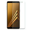 halpa Älykellot-Samsung GalaxyScreen ProtectorA8 2018 Teräväpiirto (HD) Näytönsuoja 1 kpl Karkaistu lasi