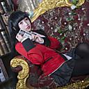 abordables Disfraces de Anime-Inspirado por Kakegurui Cosplay Animé Disfraces de cosplay Trajes Cosplay Retazos Manga Larga Pañuelo / Chaqueta / Blusa Para Mujer