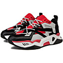 cheap Men's Sneakers-Men's Comfort Shoes Synthetics Spring Athletic Shoes Running Shoes Black / Red / White / Yellow