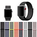 hesapli Smartwatch Bantları-Apple İzle 4/3/2/1 için kayış dokuma naylon loopback yumuşak nefes yedek velcro spor saat kayışı iwatch için 40mm 44mm 42mm 38mm