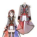povoljno Anime kostimi-Inspirirana Cosplay Cosplay Anime Cosplay nošnje Japanski Cosplay Suits Other Dugih rukava Kravata / Kaput / Bluza Za Uniseks / Rukavice / Šešir