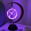 זול כלי אוכל-1set LED לילה אור סגול סוללות AA יצירתי