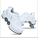 billige Sneakers til børn-Drenge PU Sportssko Små børn (4-7 år) / Store børn (7 år +) Komfort Rød / Hvid / Blå / Hvid / sølv Forår / Efterår