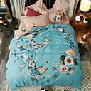 halpa Lakanasetit ja tyynyliinat-Sheet Set / Tyynyliina - Polyesteri Printed Romantiikka