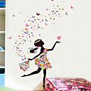 voordelige Muurstickers-Decoratieve Muurstickers - Mensen muurstickers Prinses Slaapkamer / Kinder Kamer