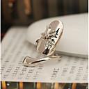 levne Prsteny-Dámské Kubický zirkon Prsten Jednoduchý Moderní Fashion Ring Šperky Zlatá / Stříbrná Pro Svatební