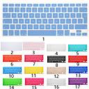 Недорогие Аксессуары для MacBook-Силиконовые Защита для клавиатуры Назначение Apple MacBook Air 11'' / MacBook Air 13'' / MacBook Pro 13 '' Английский / MacBook Pro 15 '' / MacBook Pro 13 '' с Retina дисплеем / MacBook 12''