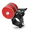 abordables Bell & Locks & Mirrors-Timbre para Bicicleta Ligero alarma Para Bicicleta de Montaña Bicicleta plegable Ciclismo Recreacional Ciclismo Aleación de aluminio ABS Negro Plata Rojo