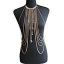 ieftine Bijuterii pentru corp-Cristal Corp lanț / burtă lanț Cristal Plin de graţie, femei, Boem, Natură, Modă Pentru femei Auriu / Argintiu Bijuterii de corp Pentru Ocazie specială / Cadou / Casual