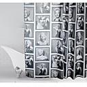 halpa Suihkuverhot-Suihkuverhot Nykyaikainen Polyesteri Tehty koneellisesti Vedenkestävä Kylpyhuone