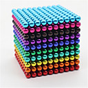 cheap Magnet Toys-1000 pcs 5mm Magnet Toy Magnetic Balls Building Blocks Super Strong Rare-Earth Magnets Neodymium Magnet Magnetic Stress and Anxiety Relief Office Desk Toys Relieves ADD, ADHD, Anxiety, Autism Novelty