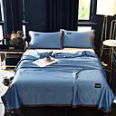 Недорогие Люстры-охлаждающий воздухопроницаемый 1 шт. santin шелк хлопок простой одеяло / 2 шт. подушки (2 шт. подушки для двух или одного) лето сплошной цвет