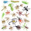 povoljno Figurice životinja-Ukrasne figurice Építőjátékok Insekt Životinje simuliranje plastika PVC Igračke za kućne ljubimce Poklon 12 pcs