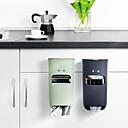 halpa Keittiön hyllyköt ja kaapit-Korkealaatuinen kanssa Muovit / ABS / Arylic Garbage bag säilytysteline Kotiin / Päivittäiskäyttöön / For Keittoastiat Keittiö varastointi 1 pcs