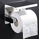 זול מחזיקי נייר טואלט-מחזיק נייר טואלט עיצוב חדש / מגניב עכשווי פלדת אל חלד / ברזל 1pc מותקן על הקיר