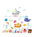 זול מדבקות קיר-מדבקות קיר דקורטיביות - מדבקות קיר מטוס חיות פנימי / חדר ילדים