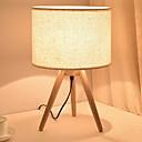 זול מנורות שולחן-מודרני עכשווי עיצוב חדש מנורת שולחן עבור חדר שינה / משרד עץ / במבוק 220V