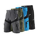 povoljno Biciklističke hlače, kratke hlače i tajice-Arsuxeo Muškarci Kratke hlače za MTB Bicikl Kratke hlače Vrećaste hlače Kratke hlače za MTB Prozračnost Ovlaživanje Quick dry Sportski Jedna barva Poliester Spandex Vojska Green / Plava / Siva Brdski