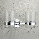 זול מחזיק מברשות שיניים-מחזיק למברשת שיניים עיצוב חדש / מגניב מודרני פלדת אל חלד / ברזל 1pc מותקן על הקיר