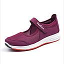 זול מגפי נשים-בגדי ריקוד נשים רשת אביב קיץ נעלי ספורט שטוח אפור / סגול / אדום