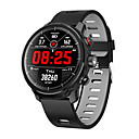 Недорогие Умные браслеты-L5 умные часы мужчины ip68 водонепроницаемый несколько спортивный режим прогноз погоды сердечного ритма Bluetooth SmartWatch ожидания 100 дней
