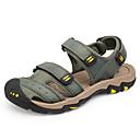 baratos Sandálias Masculinas-Homens Sapatos Confortáveis Microfibra Verão / Primavera Verão Casual Sandálias Respirável Castanho Claro / Castanho Escuro / Khaki