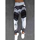 povoljno Ženske čizme-Žene Sportski Legging - Geometrijski oblici, Print Visoki struk Obala Crn M L XL / Slim