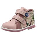 זול נעלי ספורט לילדים-בנות נוחות PU מגפיים זהב / לבן / ורוד אביב / סתיו / מגפונים\מגף קרסול