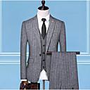 זול חליפות רטובות,חליפות צלילה וחולצות ראש-גארד-בגדי ריקוד גברים לבן שחור אפור XL XXL XXXL חליפות פסים רזה