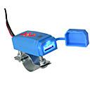 זול Car Signal Lights-אופנוע רכב USB מטען טלפון סלולרי עם מחוון כחול 2.1a