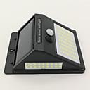 hesapli Dış Ortam Lambaları-1pc 10 W Güneş duvar ışık Su Geçirmez / Güneş Enerjisi / Kızılötesi Sensör Serin Beyaz 3.7 V Açık Hava Aydınlatma / Avlu / Bahçe 100 LED Boncuklar