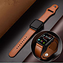 halpa Smartwatch-nauhat-aitoa nahkaa rannekkeen rannehihnakelloa omenakellosarjaan 1/2/3/4 38mm 40mm 42mm 44mm