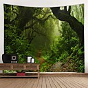 halpa Seinämaalaukset-Kukkais-teema Wall Decor 100% polyesteri Moderni Wall Art, Seinävaatteet Koriste